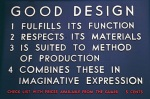 Rules of Good Design